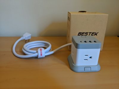 Bestek Desk Mountable Plugs and USB Charger